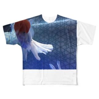 とりあえずきんぎょちゃん Full graphic T-shirts