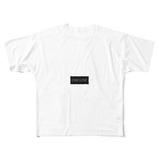てぃー フルグラフィックTシャツ