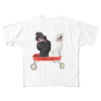 アンジー&リリエン(大) Full graphic T-shirts