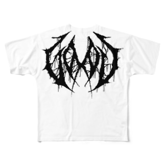 """ブルータル デスメタル ロゴ Tee """"GOOD"""" Full graphic T-shirts"""