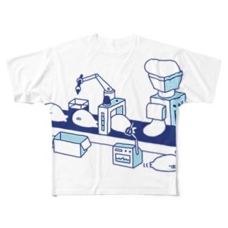 あざらし工場 Full graphic T-shirts