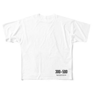 wlmのPOINTS - 300-500 Full graphic T-shirts