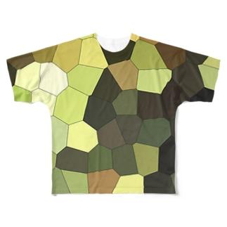 時空迷彩 参 Full graphic T-shirts