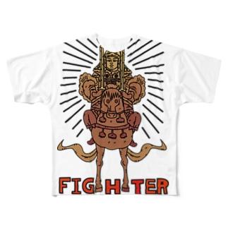 勝軍地蔵菩薩 Full graphic T-shirts