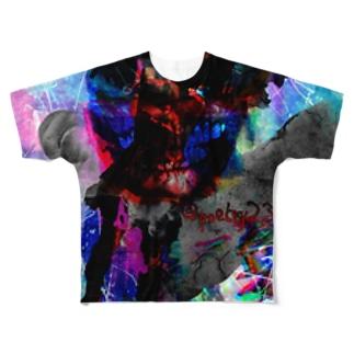 混迷 Full graphic T-shirts