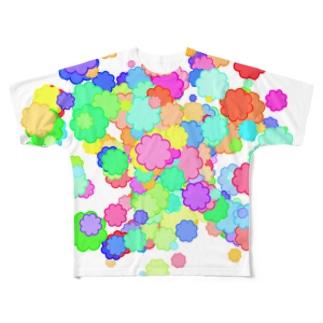 Clouds フルグラフィックTシャツ