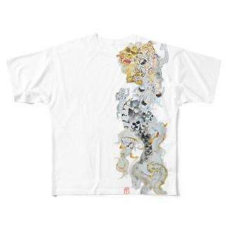 龍 Full graphic T-shirts