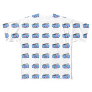 かにみそバーゲン Full graphic T-shirts
