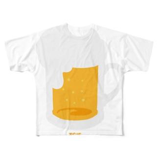 BEER (TGIF) フルグラフィックTシャツ