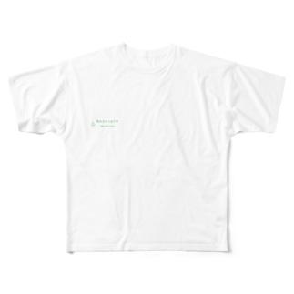 おふろどっとこむ ロゴ Full graphic T-shirts