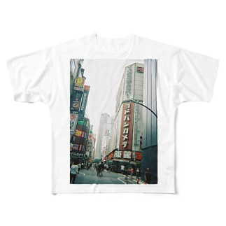 shinjyuku Full graphic T-shirts