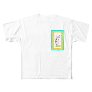 阿保 Full graphic T-shirts
