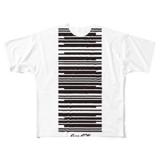 コカコーラ Full graphic T-shirts