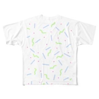 へにょぼうpop Full graphic T-shirts