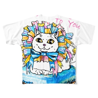 Happy  birthday to you Full graphic T-shirts