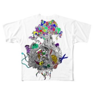 ユメモノガタリ Full graphic T-shirts