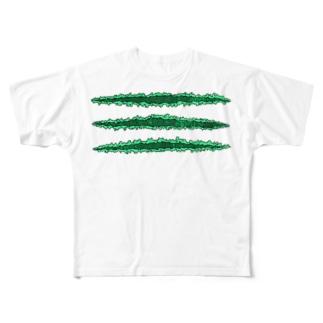 TSUME@DoukeiShock Full graphic T-shirts