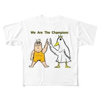 ウィーアーザーナンバーワン Full graphic T-shirts