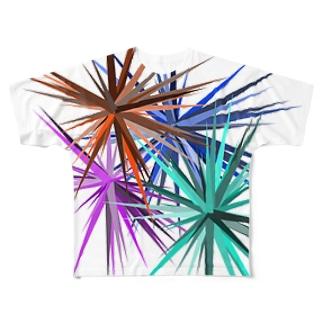 Prickles フルグラフィックTシャツ