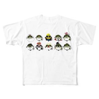 アベニーパファーコス Full graphic T-shirts