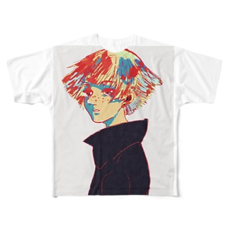 色濃くいきたい。 Full graphic T-shirts