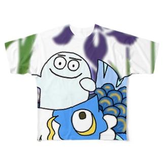 TANGOぺるぺる Full graphic T-shirts
