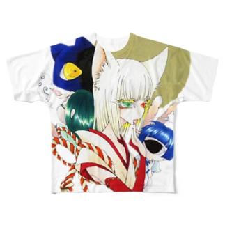 樺楠惟さん Full graphic T-shirts