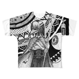 ギラルディオス Full graphic T-shirts