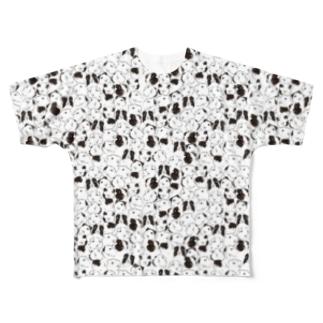 モルモット/プワイトにぱにぱ Full graphic T-shirts
