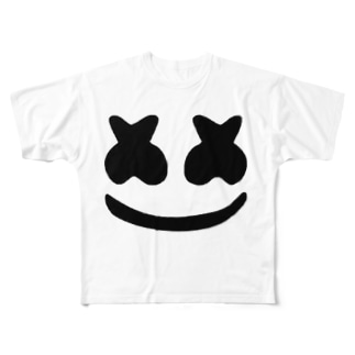 マシュメロ Full graphic T-shirts