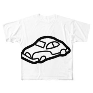 retro-Car Full graphic T-shirts