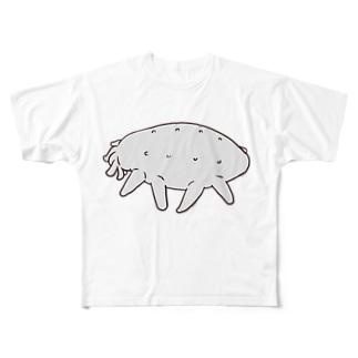 【深海生物】クマナマコ Full graphic T-shirts