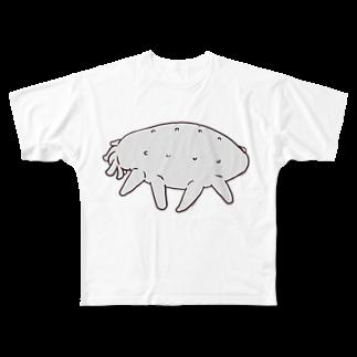 Ochieの【深海生物】クマナマコ Full graphic T-shirts