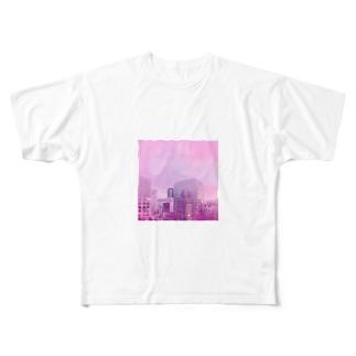 学校の外 Full graphic T-shirts