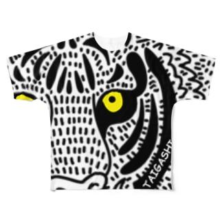 とら Full graphic T-shirts