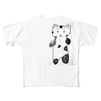 バグパンダ Full graphic T-shirts
