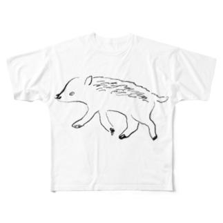 ヰ Full graphic T-shirts