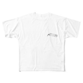 宿泊  ¥8700 Full graphic T-shirts