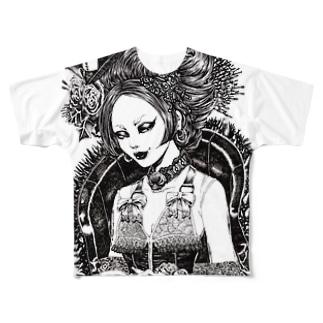 棘 Full graphic T-shirts