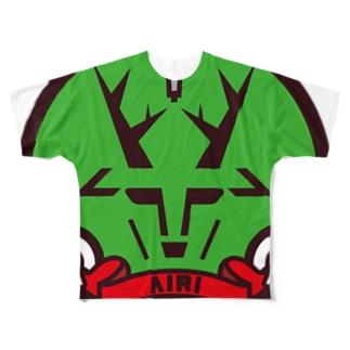 パ紋No.3332 AIRI Full graphic T-shirts
