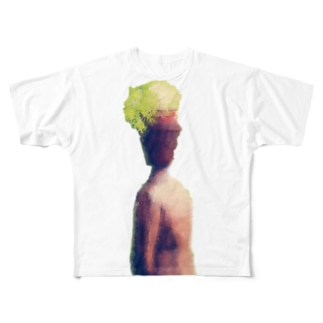 植木鉢君 Full graphic T-shirts