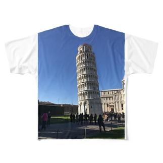 旅行気分で Full graphic T-shirts