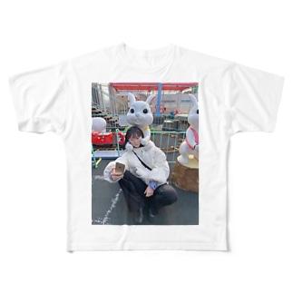 きゃん Full graphic T-shirts