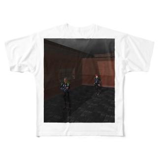 青の進路 Full graphic T-shirts