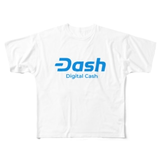 Dash(ダッシュ) Full graphic T-shirts