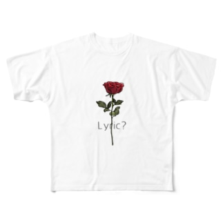 Rose Full graphic T-shirts