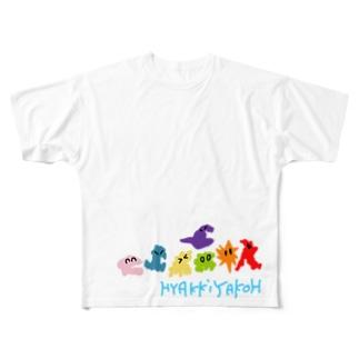 ゾロゾロ…ゾロゾロ… フルグラフィックTシャツ
