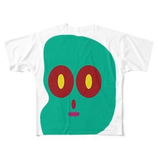 ビーンズ Full graphic T-shirts