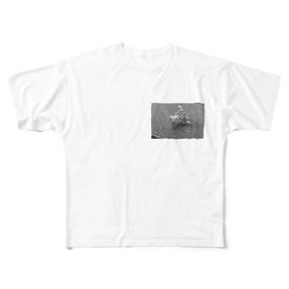 青姦(モノver) Full graphic T-shirts