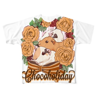 Chocoholidayグッズ Full graphic T-shirts